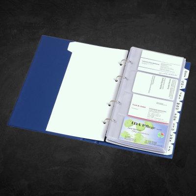 Visitenkartenbücher