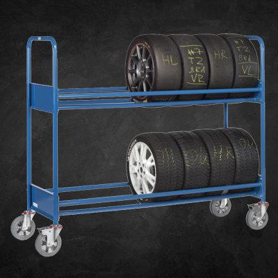 Reifen-Regalwagen