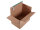 System-Versand-Transportkarton mit progressBOX Boden und Selbstklebeverschluß und Aufreißfaden - 2-wellig, DIN A3+, 460x310x300-210 mm, Braun