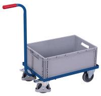 Griffroller mit Kunststoffkiste, 250 kg Traglast, 615 x...
