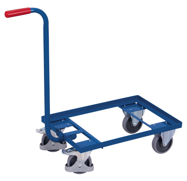 Griffroller, 250 kg Traglast, 615 x 415 mm, blau
