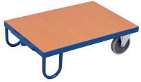 Rollplatte, 500 kg Traglast, 895 x 495 mm, blau