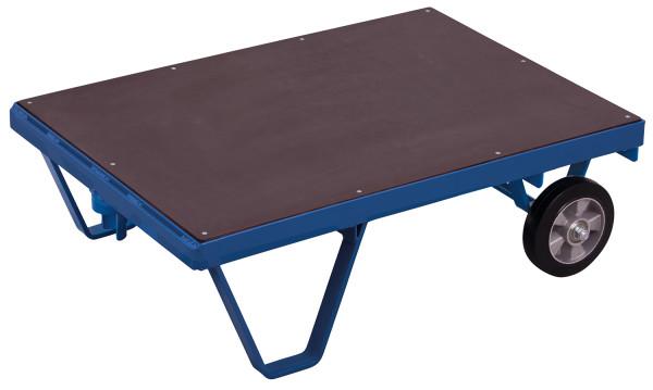 Schwerlast-Rollplatte, 1000 kg Traglast, 1590 x 900 mm, blau