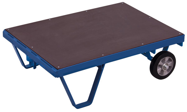 Schwerlast-Rollplatte, 1000 kg Traglast, 1990 x 1000 mm, blau
