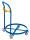 Fassroller mit Schiebebügel, Durchmesser 610 mm, Ladeflächenhöhe: 120 mm