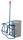 Fasskipper mit 4 Kunststoffrollen, Außenmaße: 895 x 695 x 685 mm (B/T/H), Ausführung: