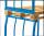 Palettenaufsatz Typ 66,  kg Traglast, 1200 x 1000 mm,