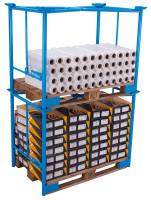Palettenaufsatz Typ 65K,  kg Traglast, 1200 x 1000 mm,
