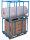 Palettenaufsatz Typ 75,  kg Traglast, 1200 x 935 mm,