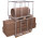 Palettenaufsatz Typ 75, verzinkt,  kg Traglast, 1200 x 800 mm,