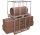 Palettenaufsatz Typ 75, verzinkt,  kg Traglast, 1200 x 1000 mm,