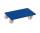 Möbelhund mit Kunststofflenkrollen, 500 kg Traglast, 600 x 300 mm, blau