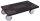 Möbelhund Europa mit thermoplastischer Bereifung, 300 kg Traglast, 600 x 350 mm, schwarz