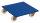 Möbelhund mit Kunststofflenkrollen, 900 kg Traglast, 600 x 600 mm, blau