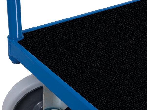 Kunststoffladefläche, Maße: 1.238 x 777 x 15 mm (B/T/H), (Boden des Basismodels)