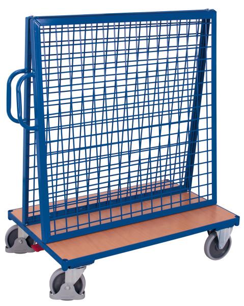 Werkstückwagen, 500 kg Traglast, 1260 x  mm, blau