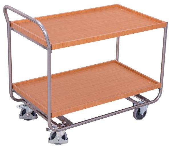 Aluminium Tischwagen, 200 kg Traglast, 970 x 570 mm,
