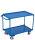 Tischwagen mit 2 Ladeflächen, 250 kg Traglast, 995 x 595 mm, blau