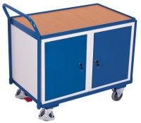 Werkstattwagen mit 1 Ladefläche, 250 kg Traglast, 985 x 595 mm, grau