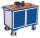 Werkstattwagen mit 1 Ladefläche, 500 kg Traglast, 1060 x 600 mm, grau