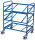 Eurokastenwagen, 200 kg Traglast, 825 x 610 mm, blau