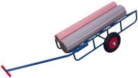 Rollenkarre, 400 kg Traglast, 1590 x 575 mm, blau