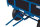Handpritschenwagen mit Bordwand, 1250 kg Traglast, 1985 x 980 mm, blau