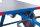 Kupplung hinten, passend für alle Modelle, Farbe: RAL 5010 enzianblau pulverbeschichtet