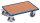 Euro-System-Roller mit Boden, 250 kg Traglast, 605 x 410 mm, blau