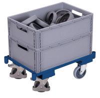 Euro-System-Roller mit Eckhülsen, 250 kg Traglast,...