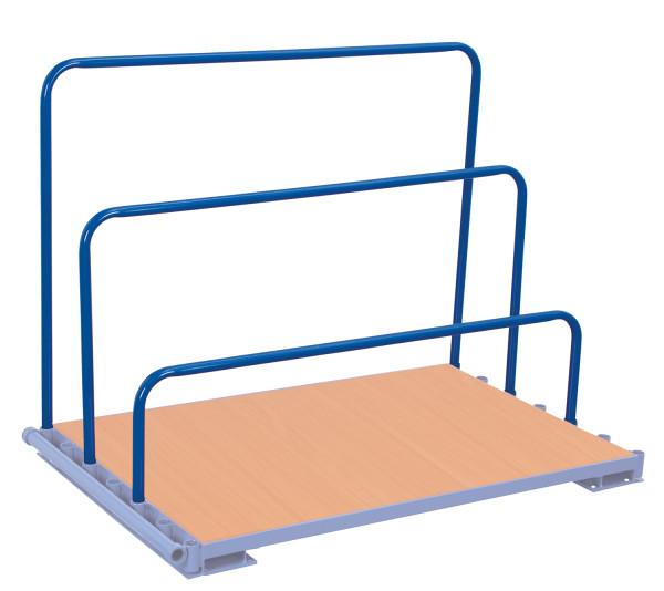 Einsteckbügel, für Plattenständer und Plattenwagen, Länge: 1.200 mm