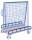 Bügel zur Abrutschsicherung, Breite: 1.260 mm, Wandhöhe: 100 mm