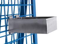 Materialkasten, Außenmaß: 250 x 150 x 80 mm  (B/T/H), verzinkte Ausführung