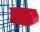 Materialkiste, Außenmaß: 230 x 140 x 130 mm (B/T/H), aus schlag- und stoßfestem Polyethylen