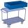 Abnehmbare Stahlblechwanne für Tischwagen, * abnehmbare Stahlblechwanne, * Abmessungen Außen: 1.075 x 590 x 235