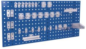 Werkzeughaltersortiment 18-teilig, bestehend aus:, - 5 Werkzeughalter mit schrägem Ende