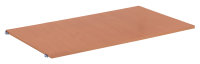 Etagenboden 995 x 585 mm, * 18 mm MDF-Platte, Oberfläche Buchendekor, * Abmessung: 995 x 585 mm (B/T)