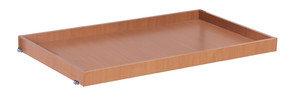 Tablett 965 x 655 mm, * 15 mm MDF-Platte, Oberfläche Buchendekor, * Innenabmessungen: 965 x 655 x 45 mm (B/T/H)