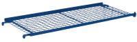 Etagenboden drahtvergittert, 50 kg Traglast, 1320 x 535 mm, blau