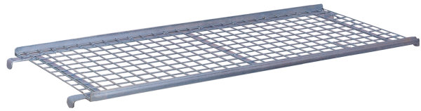 Etagenboden drahtvergittert, verzinkt, 50 kg Traglast, 1320 x 535 mm,