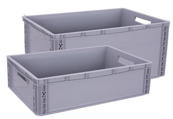 Kunststoffkiste, 25 kg Traglast, 570 x 370 mm,