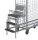 Trittleiter mit 3 Stufen für Kommissionierwagen, bestehend aus:, 3 Trittstufen klappbar, Stufen aus Sperrholz film/siebbeschichtet