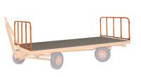 2 Stahlrohrwände,  kg Traglast, 2000 x 1000 mm, orange