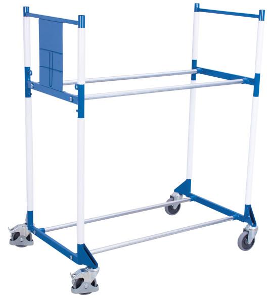 Kunststoffkantenschutz für Reifenregal/-wagen, für Rohrdurchmesser 33,7 mm, zum Anklippen auf die Rohre