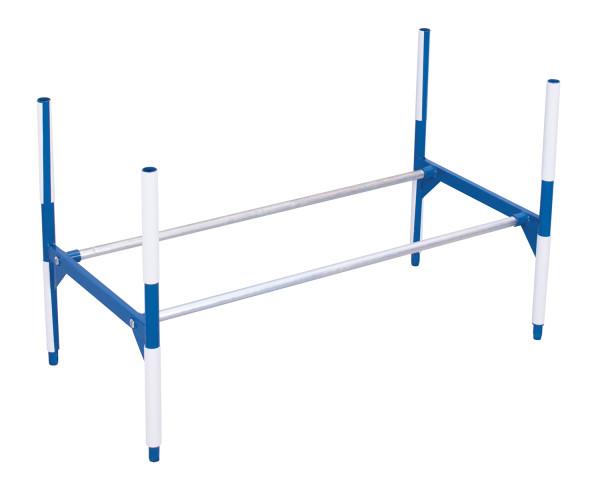 Kunststoffkantenschutz für Etage, für Rohrdurchmesser 33,7 mm, zum Anklippen auf die Rohre
