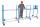Erweiterungsrohr für Reifenregal-/wagen,  kg Traglast, 1130 x  mm,