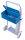 Werkzeugkiste, Maße: 460 x 205 x 153 mm (B/T/H), für Stahlflaschenkarren fk-1300, fk-1301