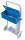 Werkzeugkiste, Maße: 460 x 205 x 153 mm (B/T/H), für Stahlflaschenkarren fk-1302, fk-1303