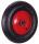 Luftrad 400 x 100 mm, schwarz, Rad-Durchmesser: 400 mm, Bohrung: 25 mm