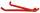 Kunststoffgleitkufe, Farbe: RAL 2002/Nr.: 1795 C, EAN-Nr: 4035694012615